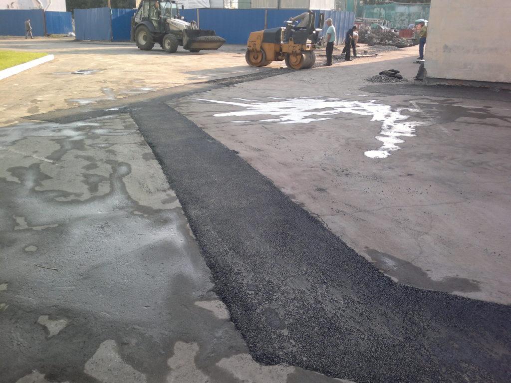 стоимость ямочного ремонта дороги 1 кв м