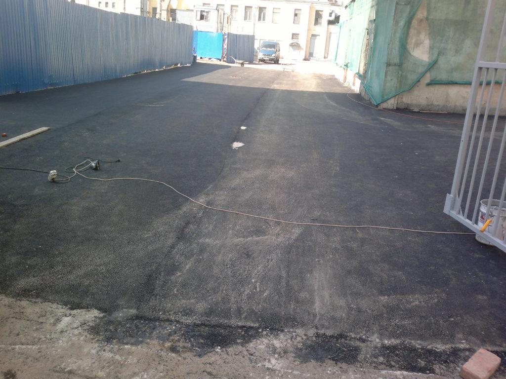ямочный ремонт автомобильной дороги
