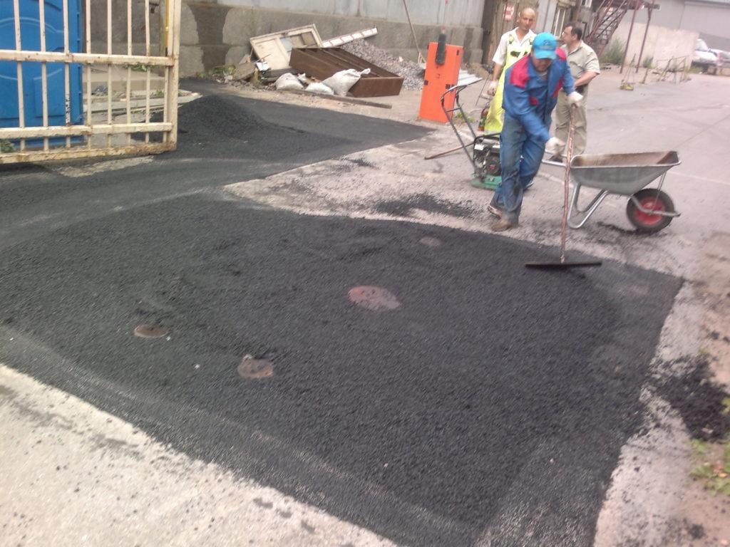 цена ямочного ремонта 1 квадратного метра дороги