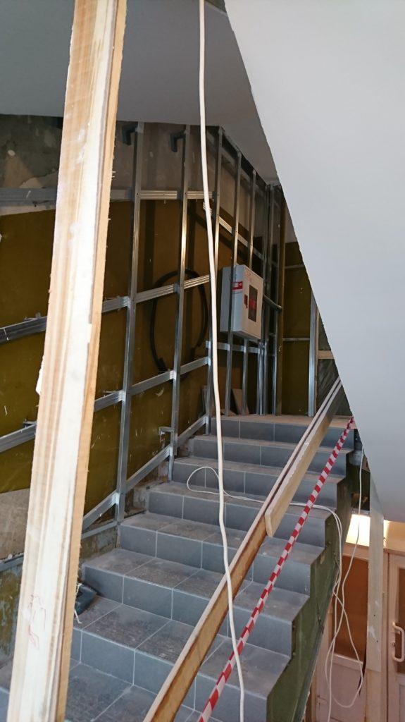 Ремонт лестниц