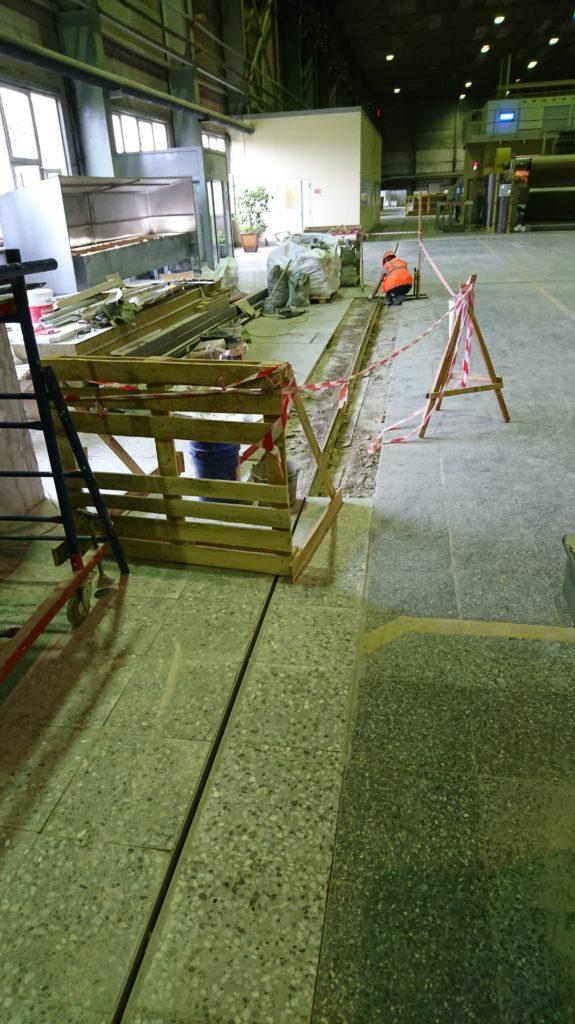 ремонт деформационного шва