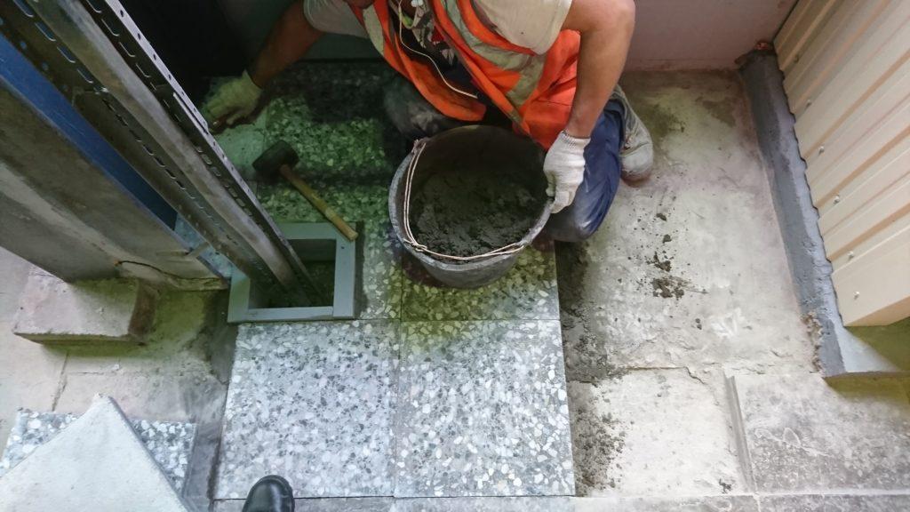 Восстановление плитки