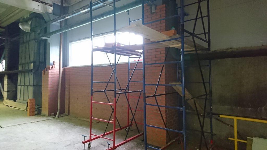 Демонтаж и монтаж стены