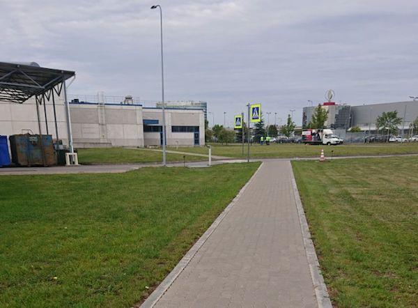 Устройство пешеходной дорожки