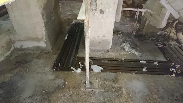 Демонтаж полов и последующее восстановление покрытия