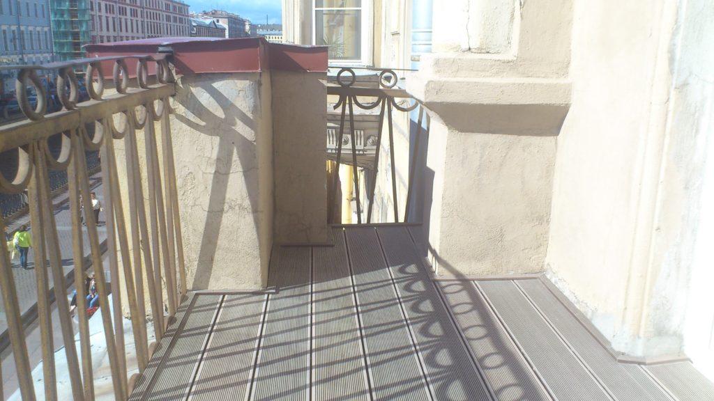 Ремонт балкона: доска