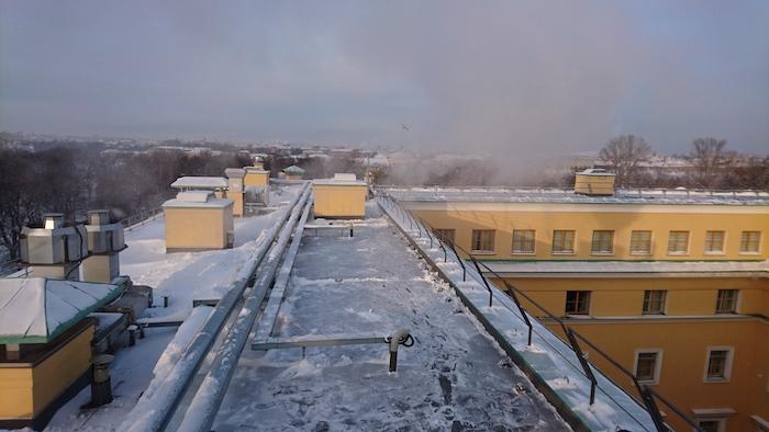 Уборка снега компанией Спайдор